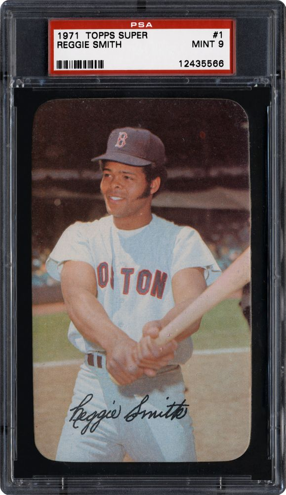 Baseball Cards 1971 Topps Super Images Psa Cardfacts