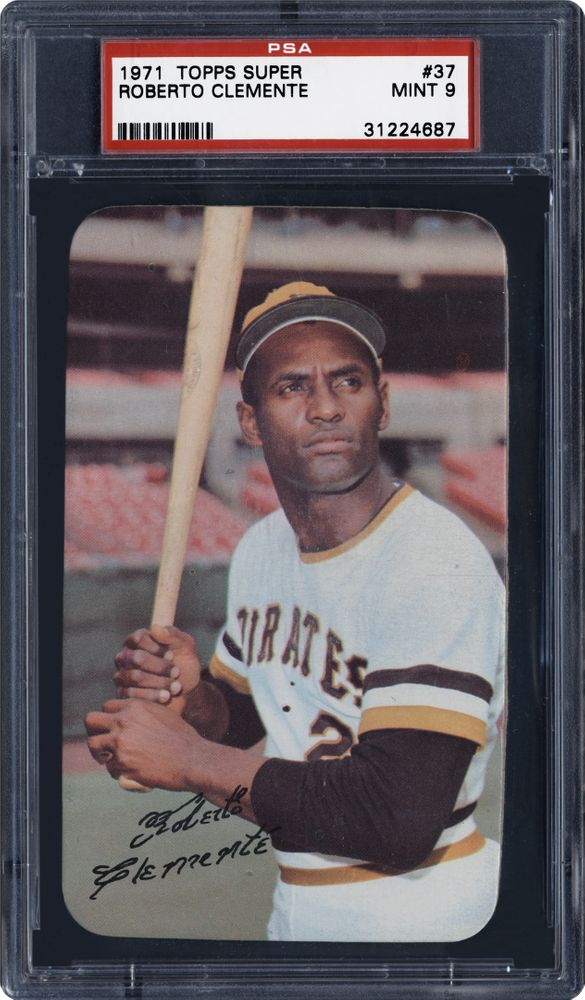 1971 Topps Super Roberto Clemente Psa Cardfacts