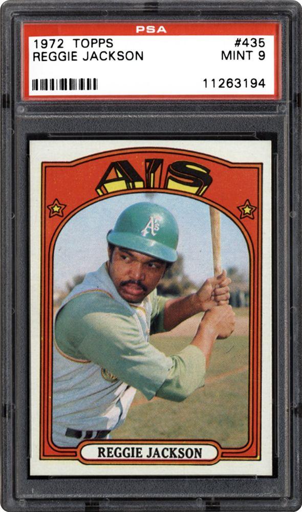 1972 Topps Reggie Jackson Psa Cardfacts