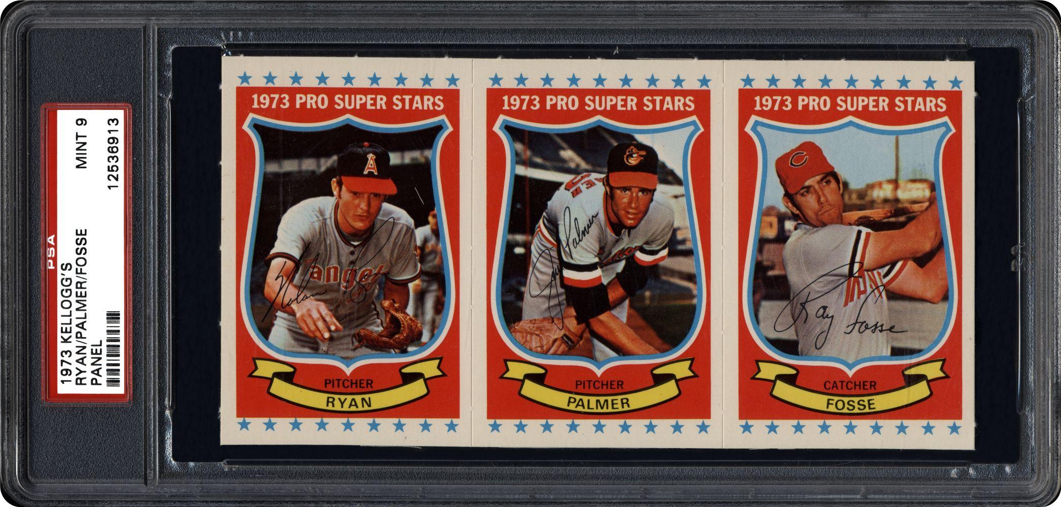 1973 Kelloggs Baseball Cards Psa Smr Price Guide