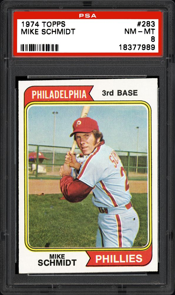 1974 Topps Mike Schmidt Psa Cardfacts