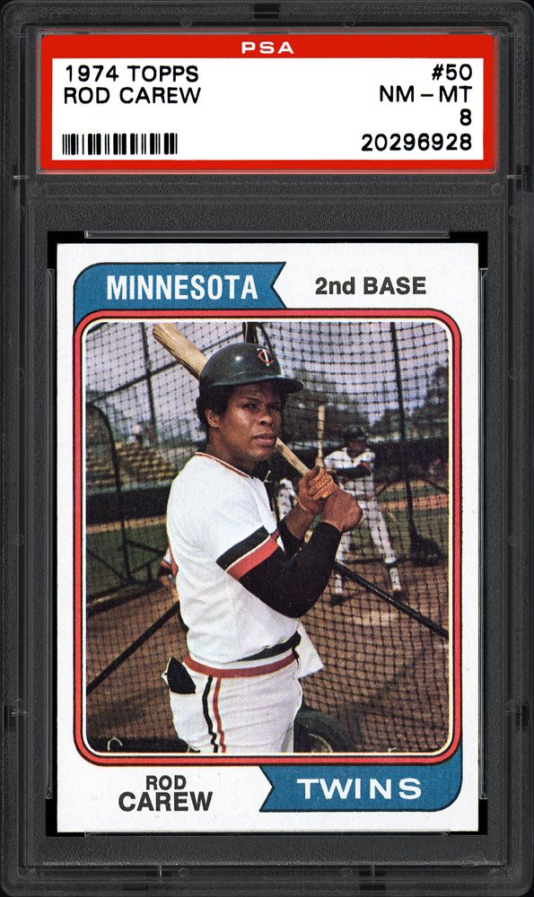 1974 Topps Rod Carew | PSA CardFacts™