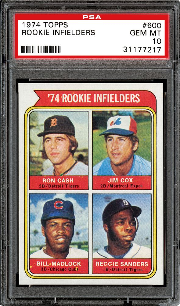 Baseball Cards 1974 Topps Psa Cardfacts