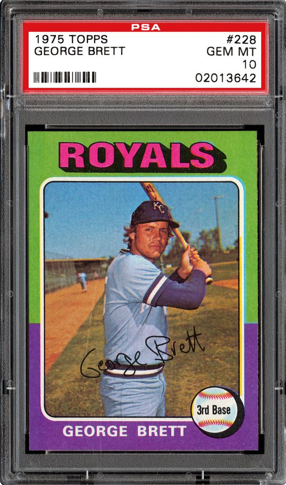 Baseball Cards 1975 Topps Psa Cardfacts