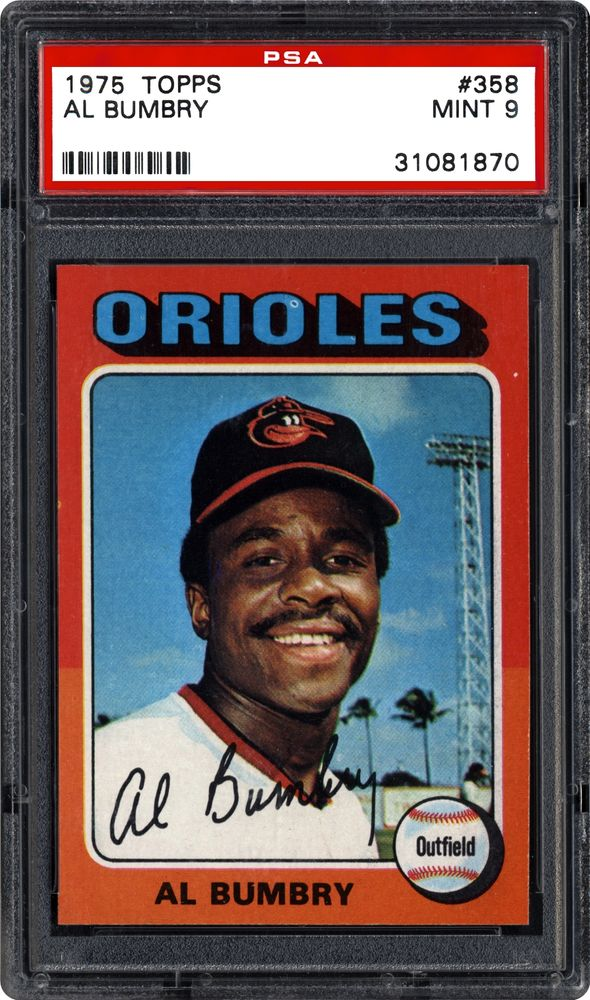 1975 Topps Al Bumbry Psa Cardfacts