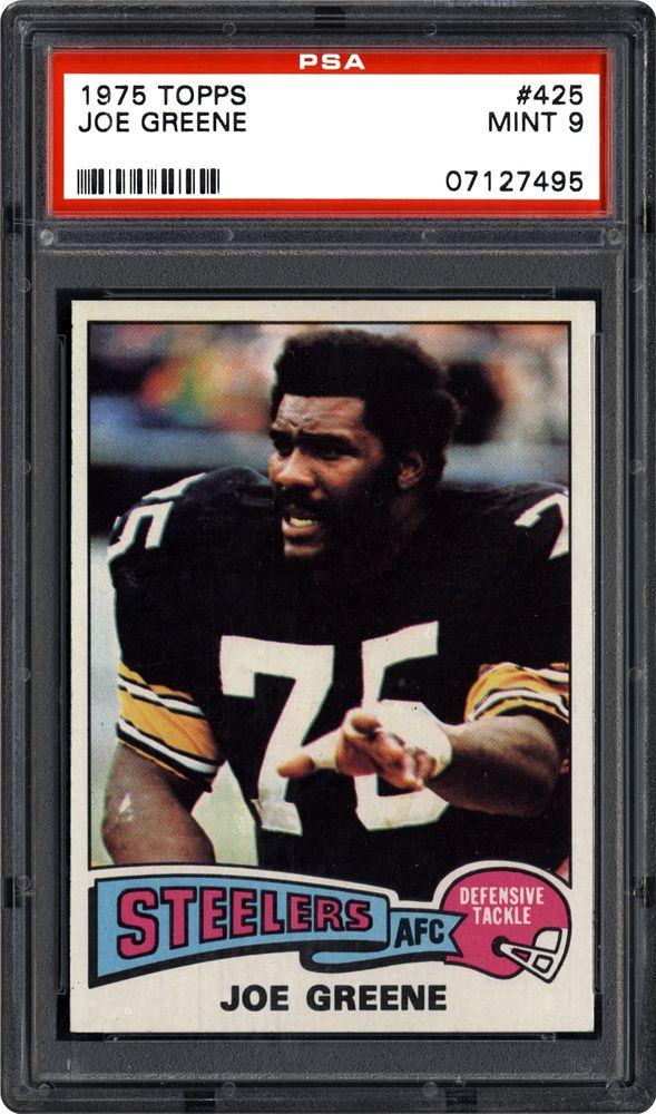 low priced 1d88b 14ebf 1975 Topps Joe Greene | PSA CardFacts™