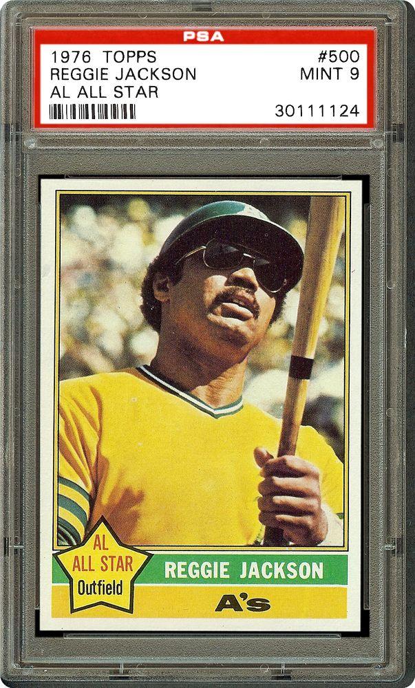 1976 Topps Reggie Jackson Psa Cardfacts