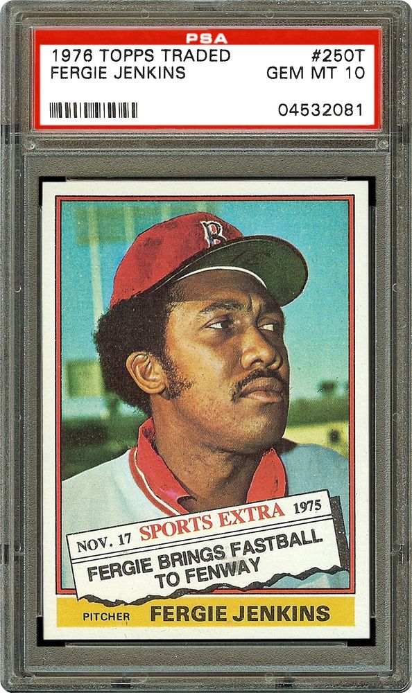 Baseball Cards 1976 Topps Traded Psa Cardfacts