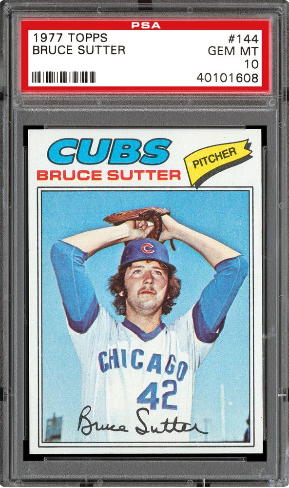 Baseball Cards 1977 Topps Psa Cardfacts