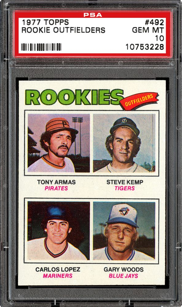 1977 Topps Baseball Cards Psa Smr Price Guide