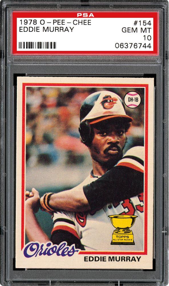 742e2aa213c Eddie Murray - 1978 O-Pee-Chee. THE PLAYER. Eddie Clarence Murray ...
