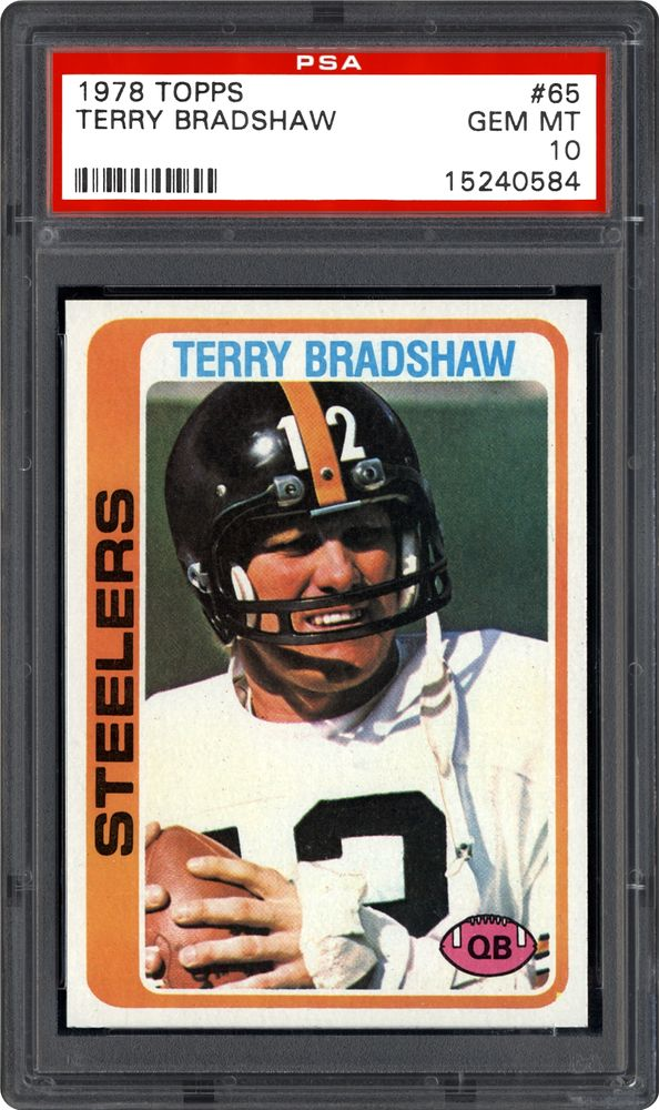 a414eae4512 1978 Topps Football Cards - PSA SMR Price Guide