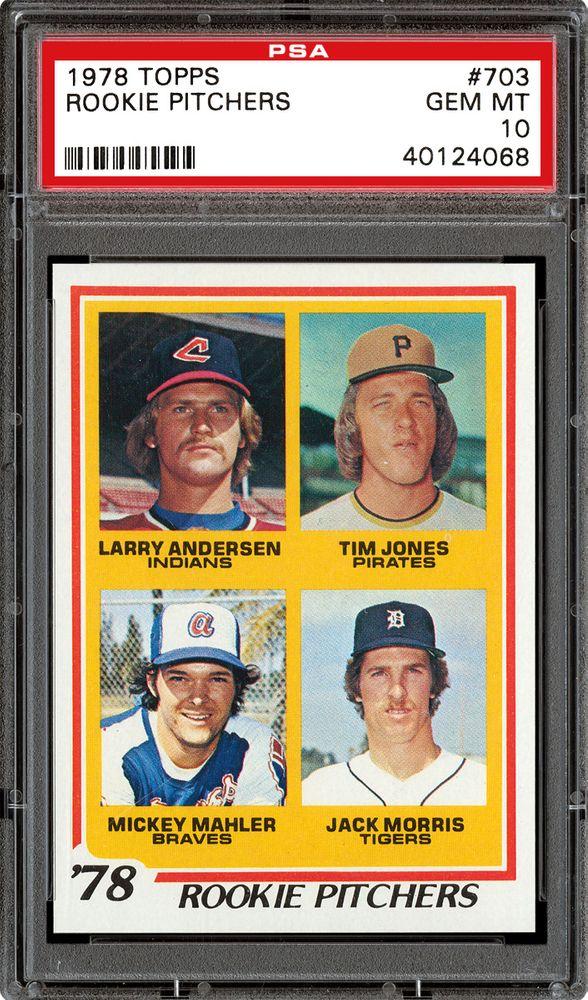 1978 Topps Baseball Cards Psa Smr Price Guide