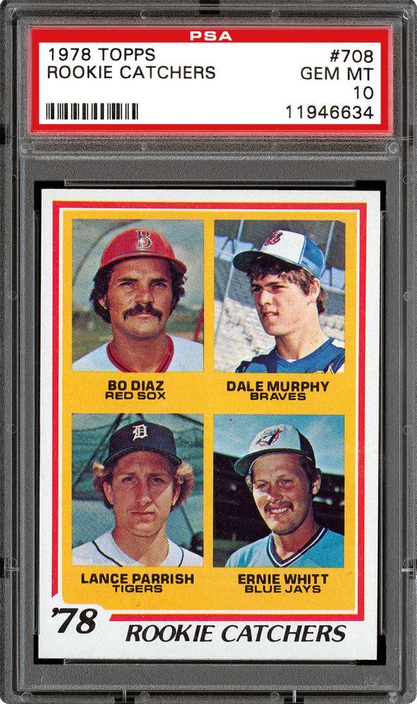 1978 Topps Rookie Catchers Bo Diazdale Murphylance