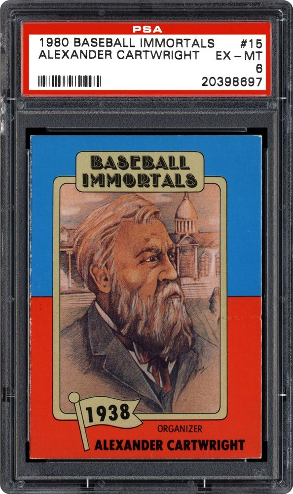 Baseball Cards 1980 88 Baseball Immortals Psa Cardfacts