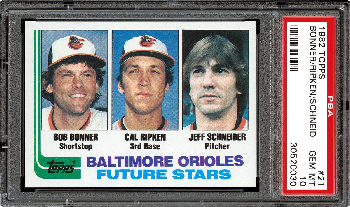 1982 Topps Baseball Cards Psa Smr Price Guide