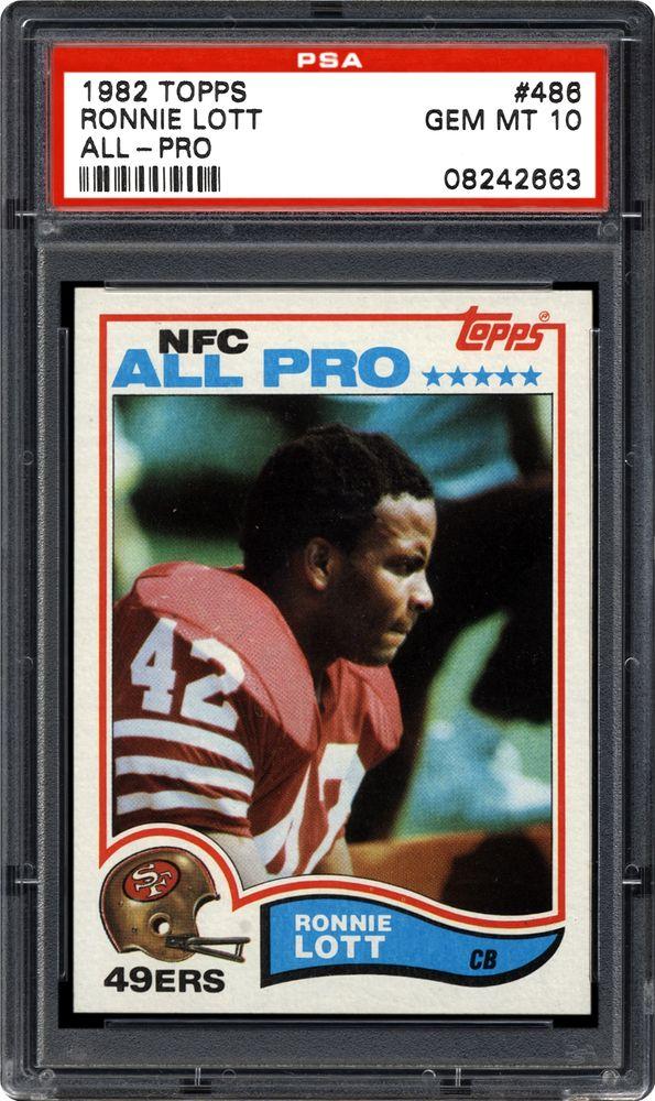 7eaa652ab Ronnie Lott (All-Pro) - 1982 Topps