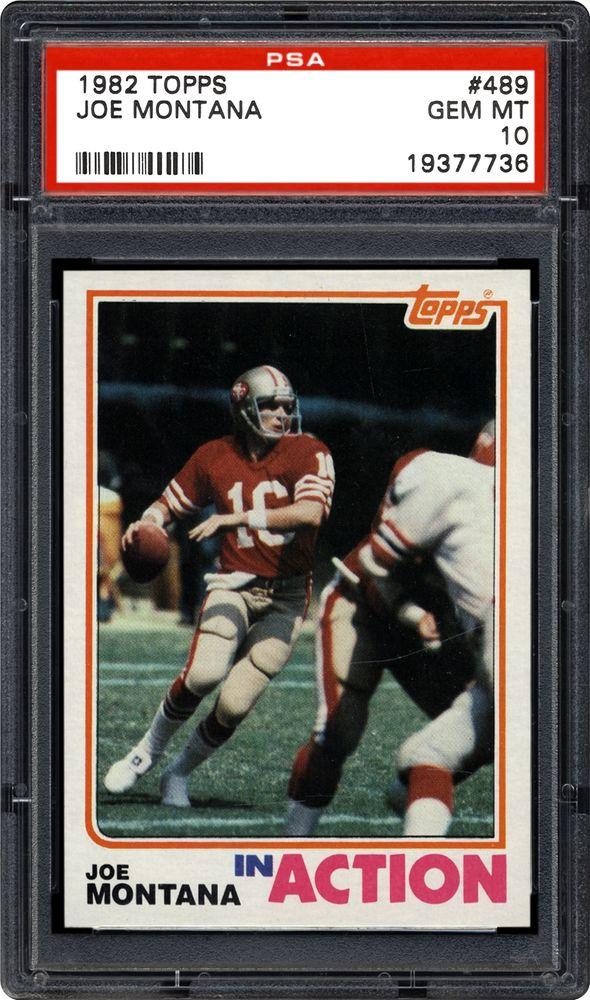 1982 Topps Joe Montana Psa Cardfacts