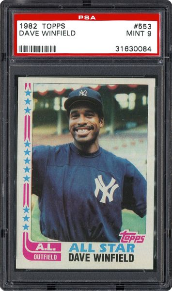 1982 Topps Dave Winfield   PSA CardFacts™