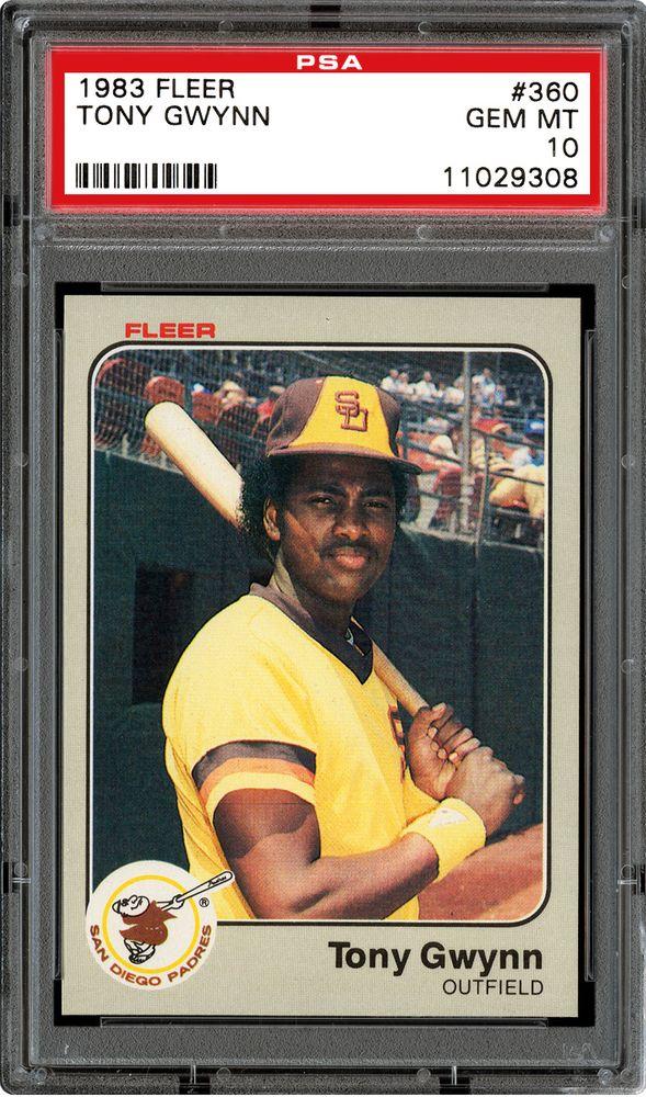 1983 Fleer Baseball Cards Psa Smr Price Guide