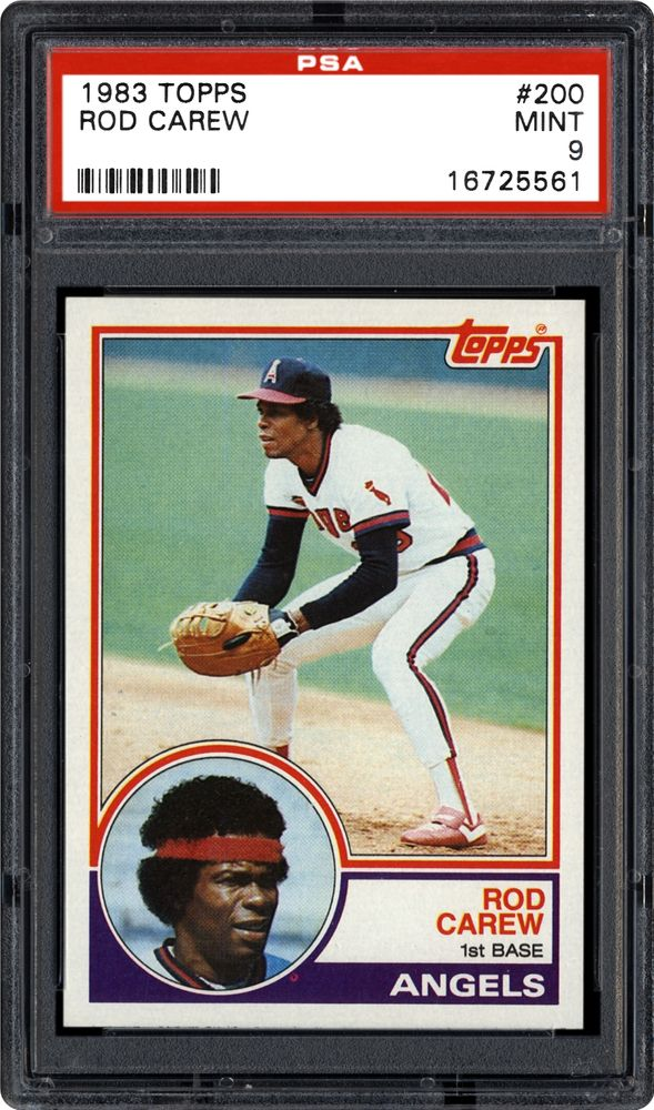 1983 Topps Rod Carew | PSA CardFacts™