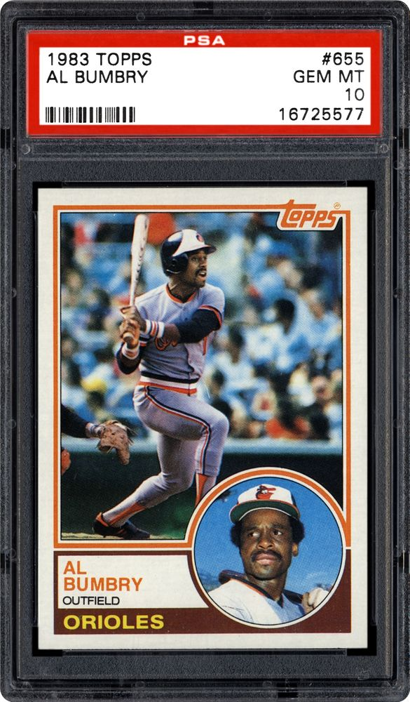 1983 Topps Al Bumbry Psa Cardfacts