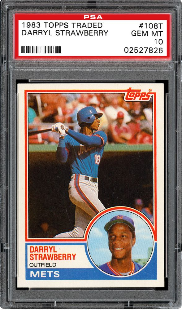 1983 Topps Traded Darryl Strawberry Psa Cardfacts