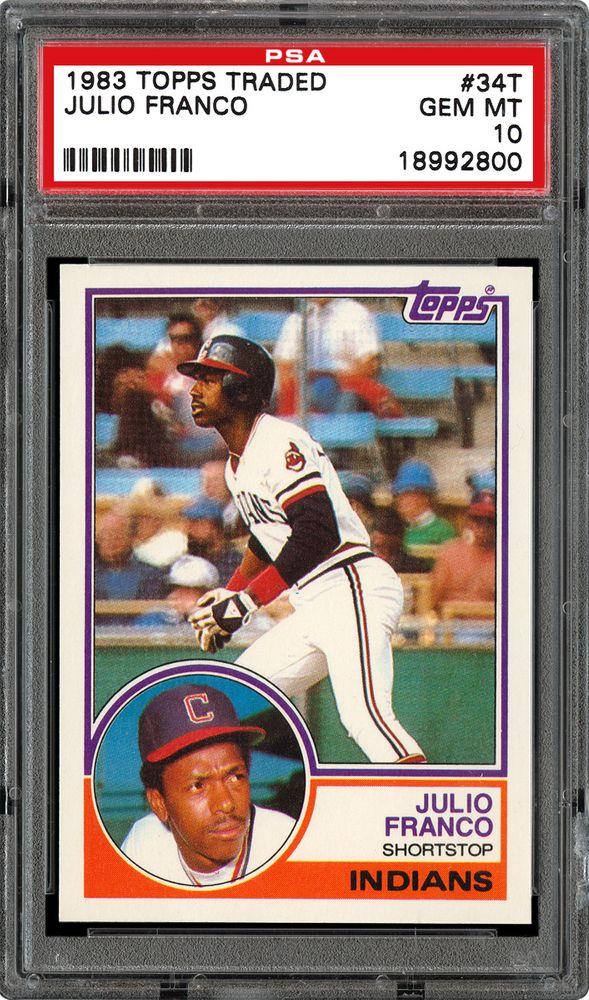1983 Topps Traded Baseball Cards Psa Smr Price Guide