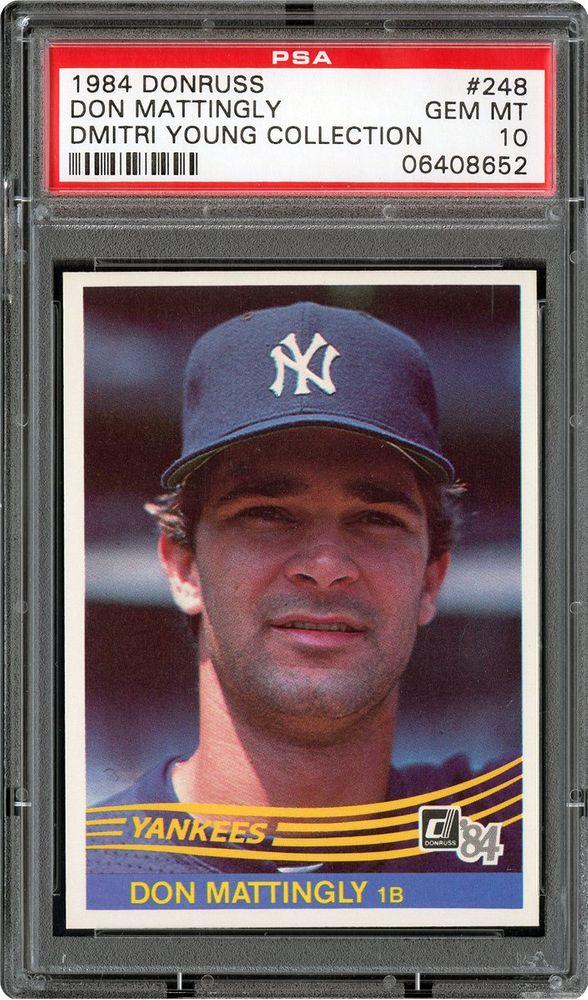 Baseball Cards 1984 Donruss Psa Cardfacts