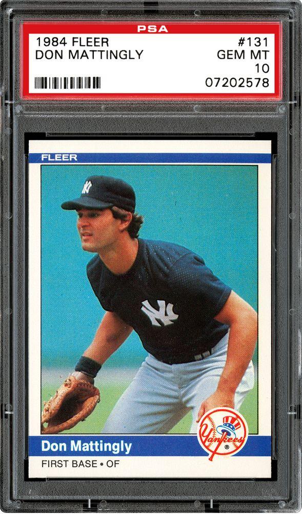1984 Fleer Baseball Cards Psa Smr Price Guide