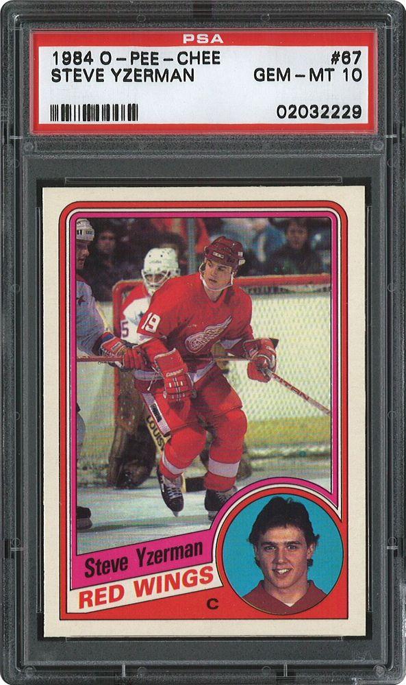 1984 O Pee Chee Hockey Cards Psa Smr Price Guide