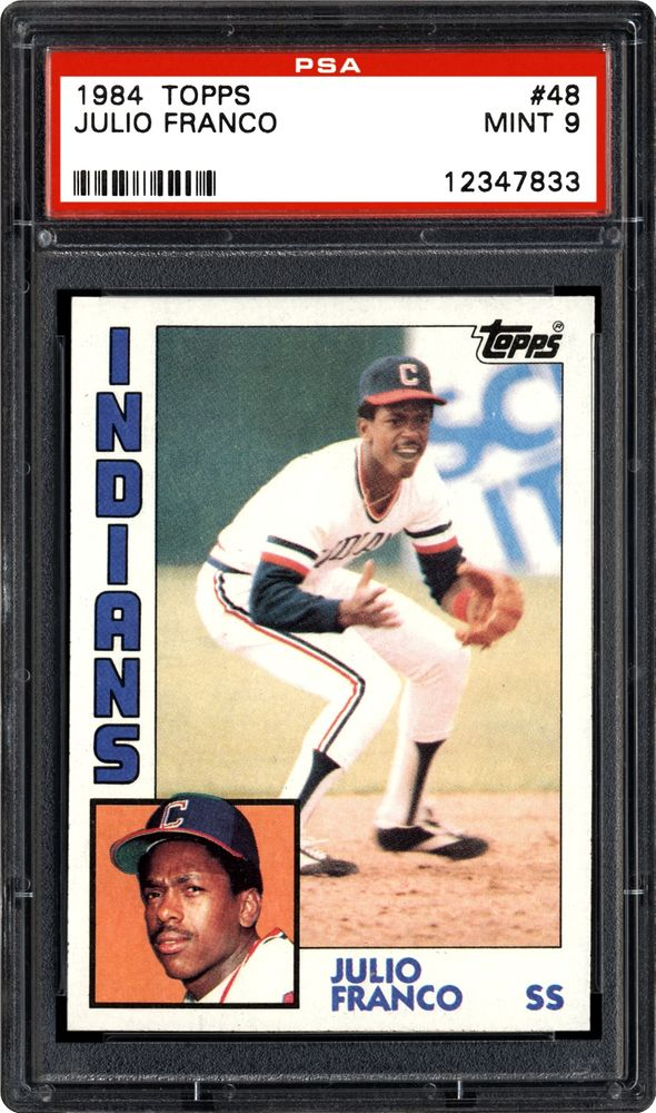 Baseball Cards 1984 Topps Images Psa Cardfacts