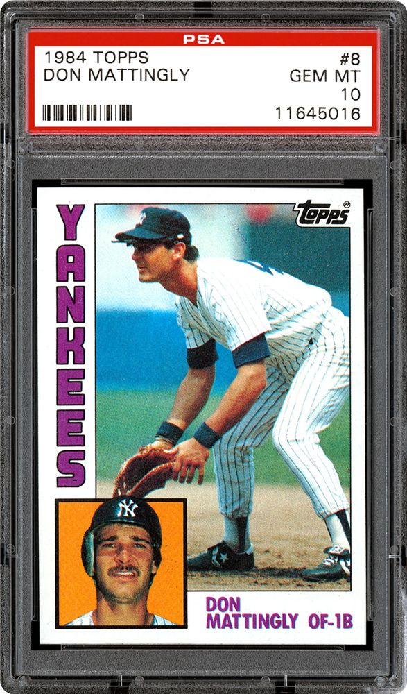 Baseball Cards 1984 Topps Psa Cardfacts