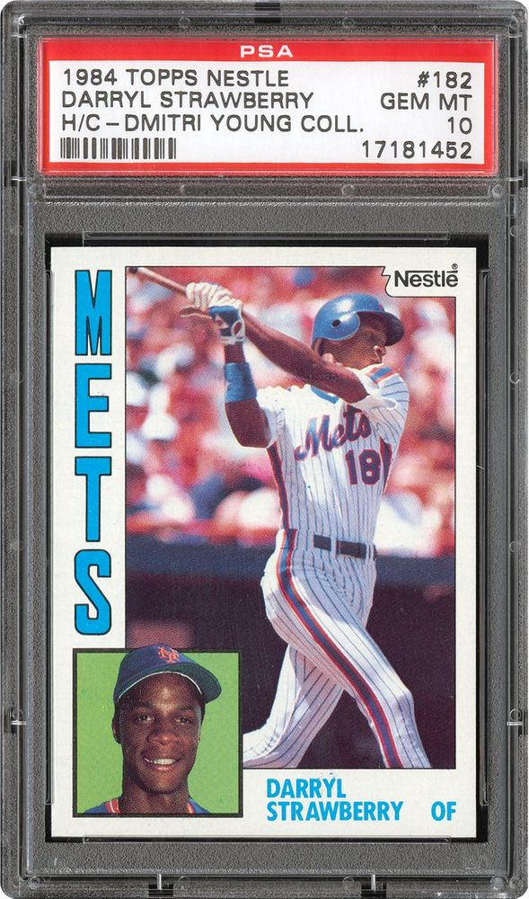 1984 Topps Nestle Darryl Strawberry Psa Cardfacts