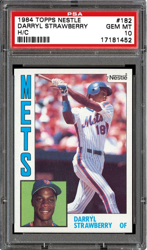 Baseball Cards 1984 Topps Nestle Psa Cardfacts