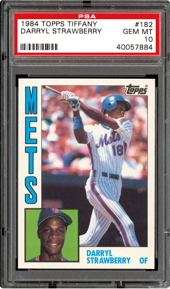 Baseball Cards 1984 Topps Tiffany Psa Cardfacts