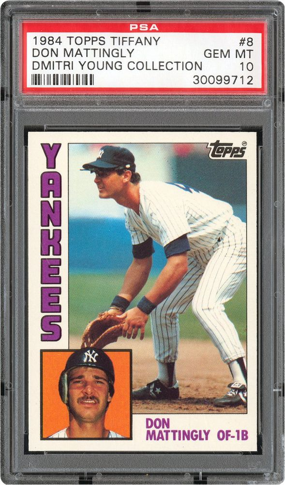 Baseball Cards 1984 Topps Tiffany Psa Cardfacts