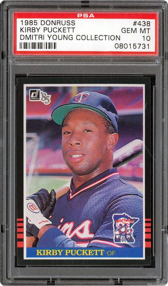 Baseball Cards 1985 Donruss Psa Cardfacts