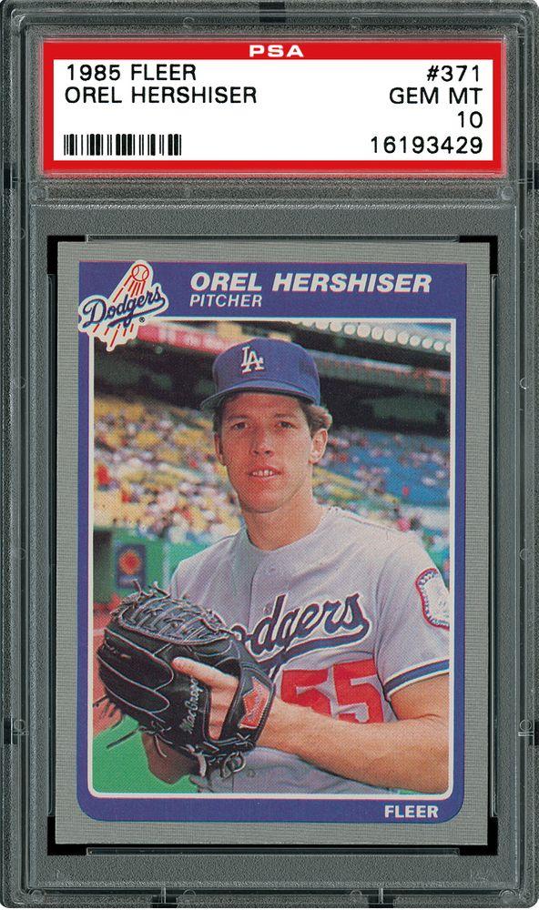 Auction Prices Realized Baseball Cards 1985 Fleer Orel Hershiser
