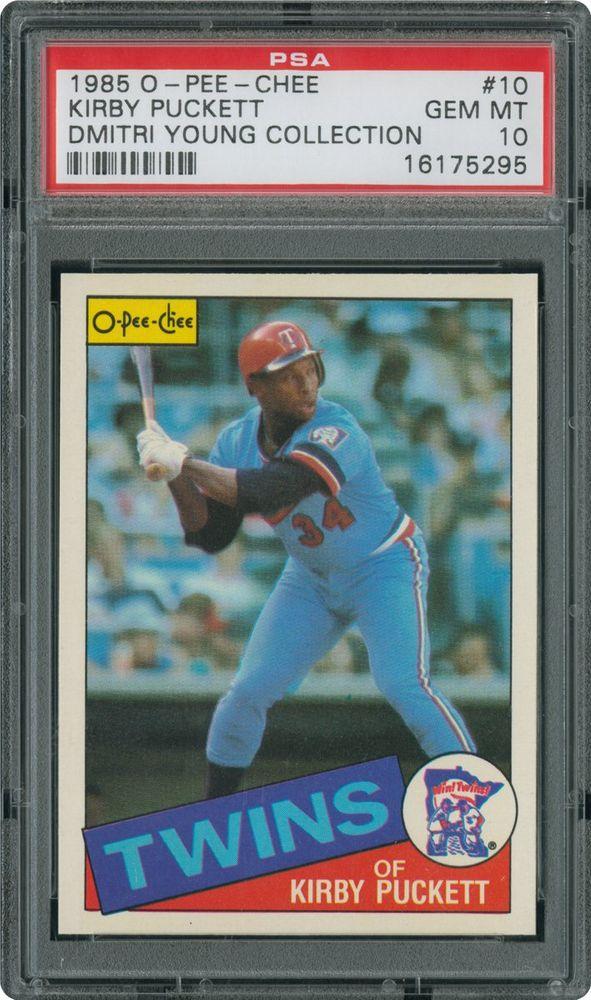 Baseball Cards 1985 O Pee Chee Psa Cardfacts
