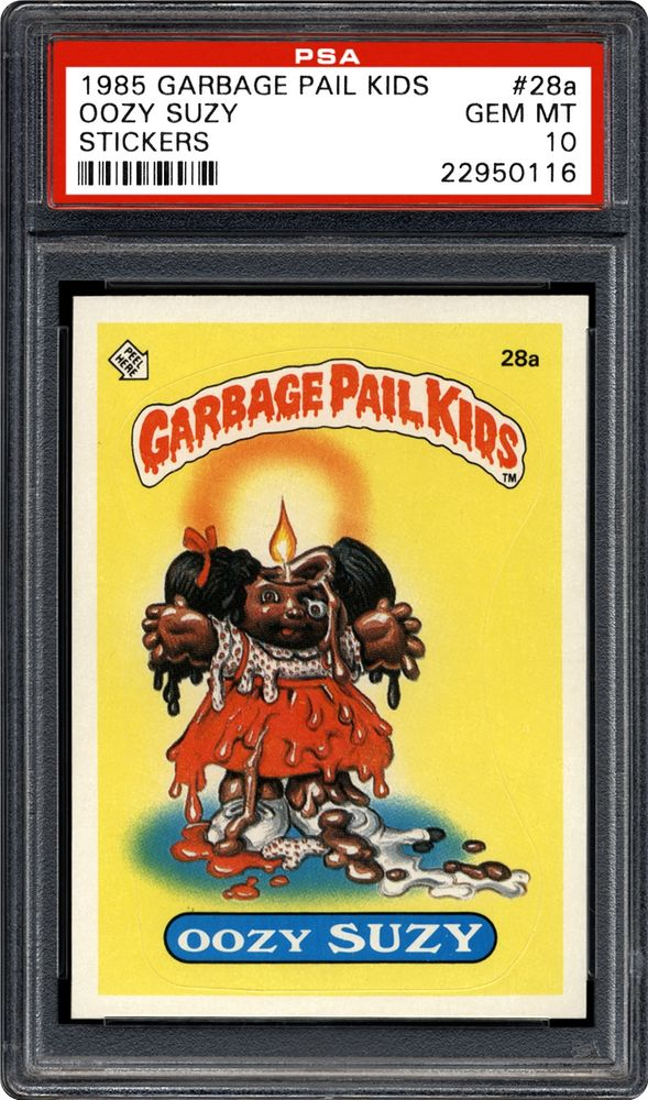 399602b1d55 Oozy Suzy - 1985 Topps Garbage Pail Kids Stickers. ARTICLES. PSA Set  Registry  Collecting ...