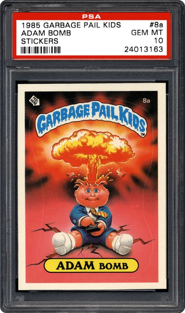 af78b94f1b8 Auction Prices Realized Non Sport Cards 1985 Garbage Pail Kids ...