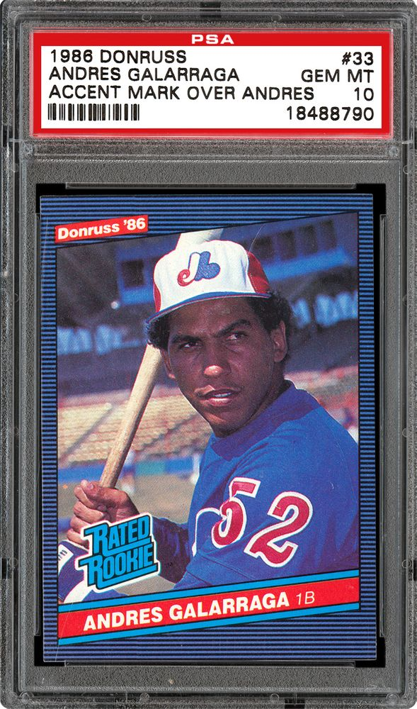 Baseball Cards 1986 Donruss Images Psa Cardfacts