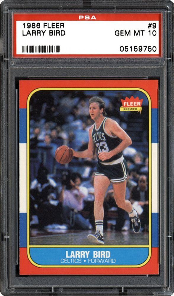 1986 Fleer Larry Bird Psa Cardfacts