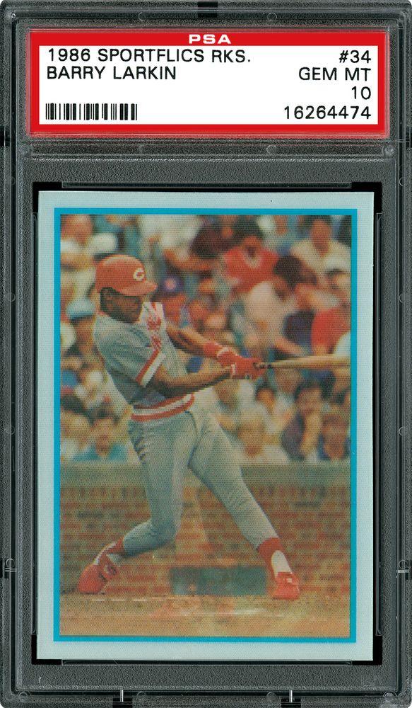 Baseball Cards 1986 Sportflics Rookies Psa Cardfacts