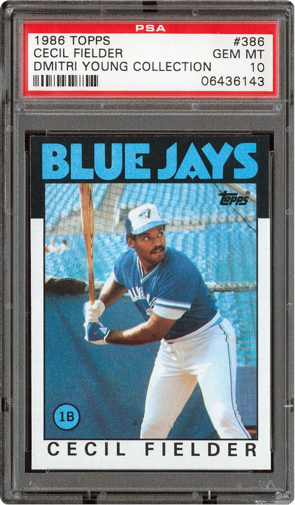Baseball Cards 1986 Topps Psa Cardfacts