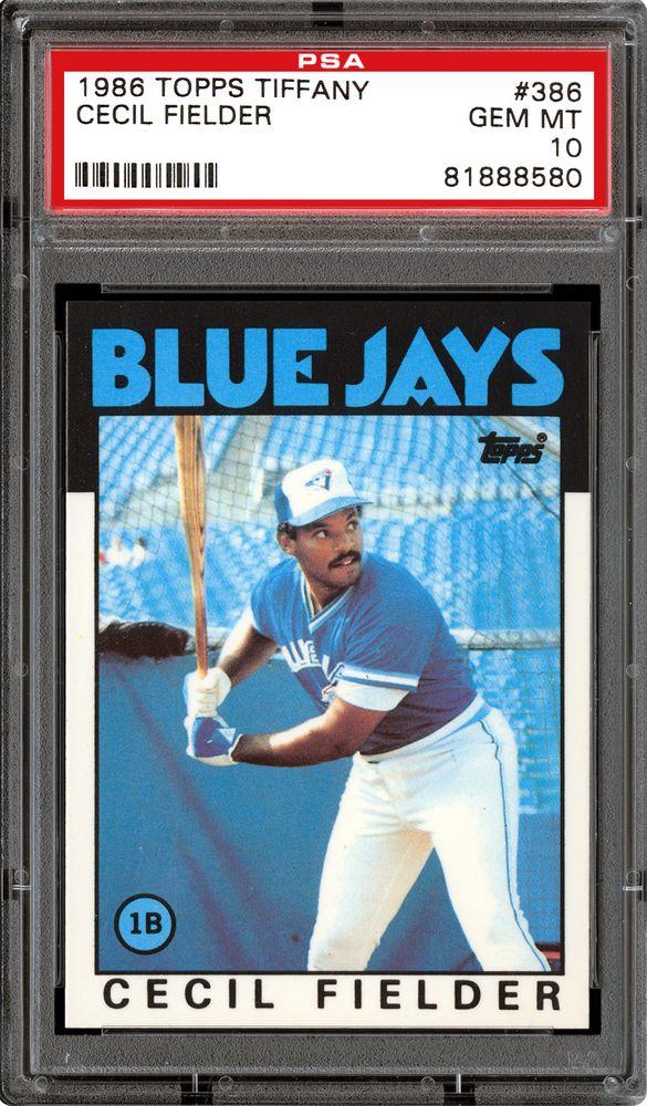 Baseball Cards 1986 Topps Tiffany Psa Cardfacts