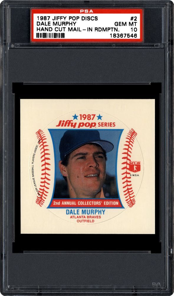 Auction Prices Realized Baseball Cards 1987 Jiffy Pop Discs