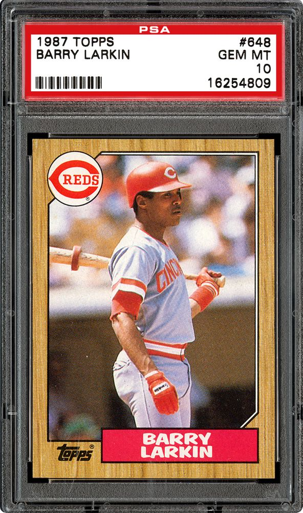 Baseball Cards 1987 Topps Psa Cardfacts
