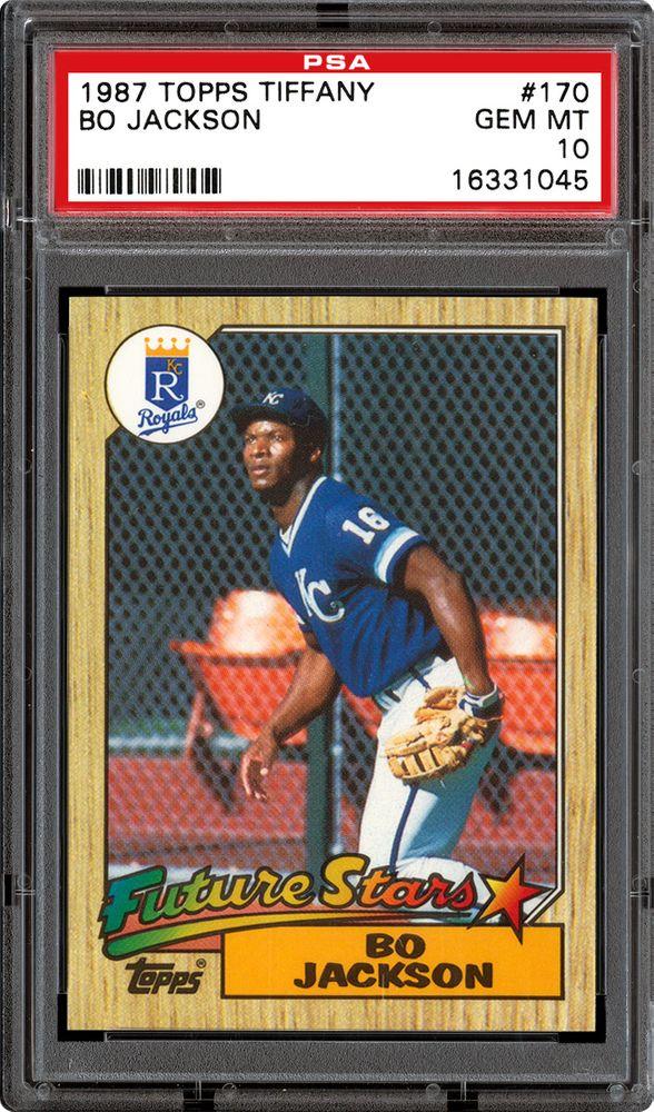1987 Topps Tiffany Baseball Cards Psa Smr Price Guide